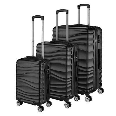 Go2Travel Hartschalen Reisekoffer Trolley Reisetasche Handgepäck Kofferset 2