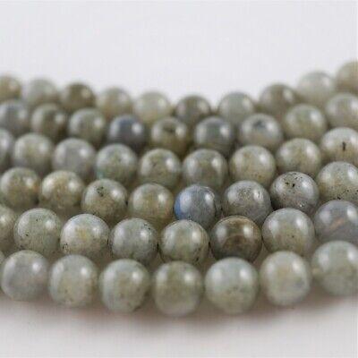 Perlen Kugeln 3mm Schmuckherstellung 1 Strang Natural Labradorit A+