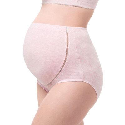 3 Packs Women High Waist Adjustable Maternity Pregnant Panties Briefs Underwear 8
