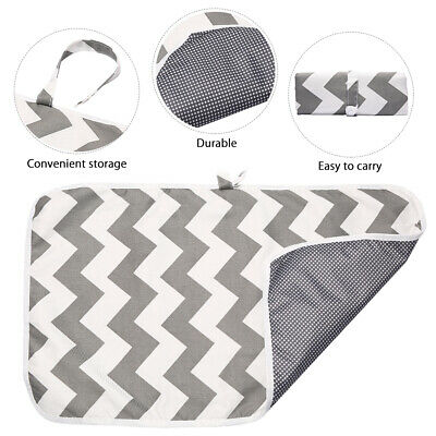 Portable Foldable Washable Baby Waterproof Travel Nappy Diaper Changing Mat Pad 8