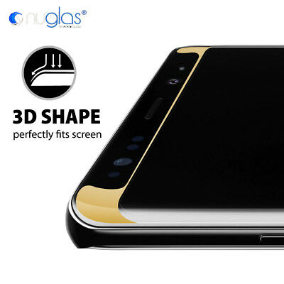 Samsung Galaxy S9 S8 Note 9 8 NUGLAS Full Cover Tempered Glass Screen Protector 2