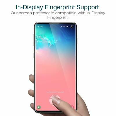 2x 3D Panzer Folie Samsung Galaxy S10 / Plus / Edge Display Schutzfolie TPU Klar 4