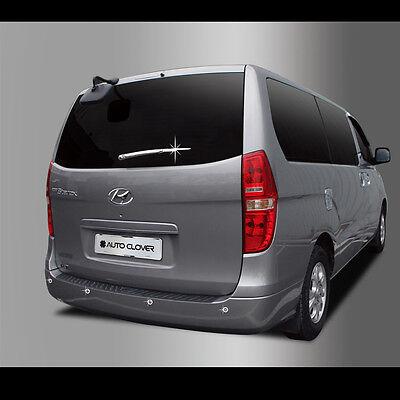 Chrome Rear Trunk Garnish Trim For 2007-2016 Hyundai i800 H1 Starex