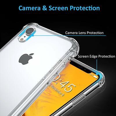 Coque Iphone Xr Xs Max Silicone Tpu Antichoc Renforcé Etui Housse Protection 6