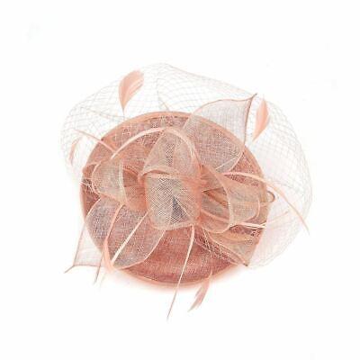 New Large Headband Aliceband Hat Fascinator Wedding Ladies Day Races Royal Ascot 9