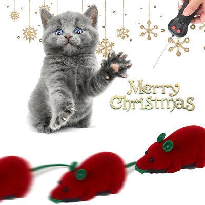 Pet Cat Dog Remote Control Toy Fake Mice Mouse Prank Rat Mock Training Gifts 3