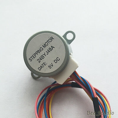 24BYJ-48 High Quality Stepper Gear Motor 5V 4 Phase 5 wire Step Reduction Motor 4