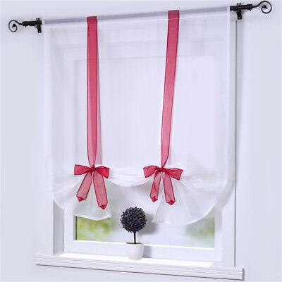 RAFFROLLO WEISS RAFFGARDINEN Fenster Gardinen Küche Fenster ...