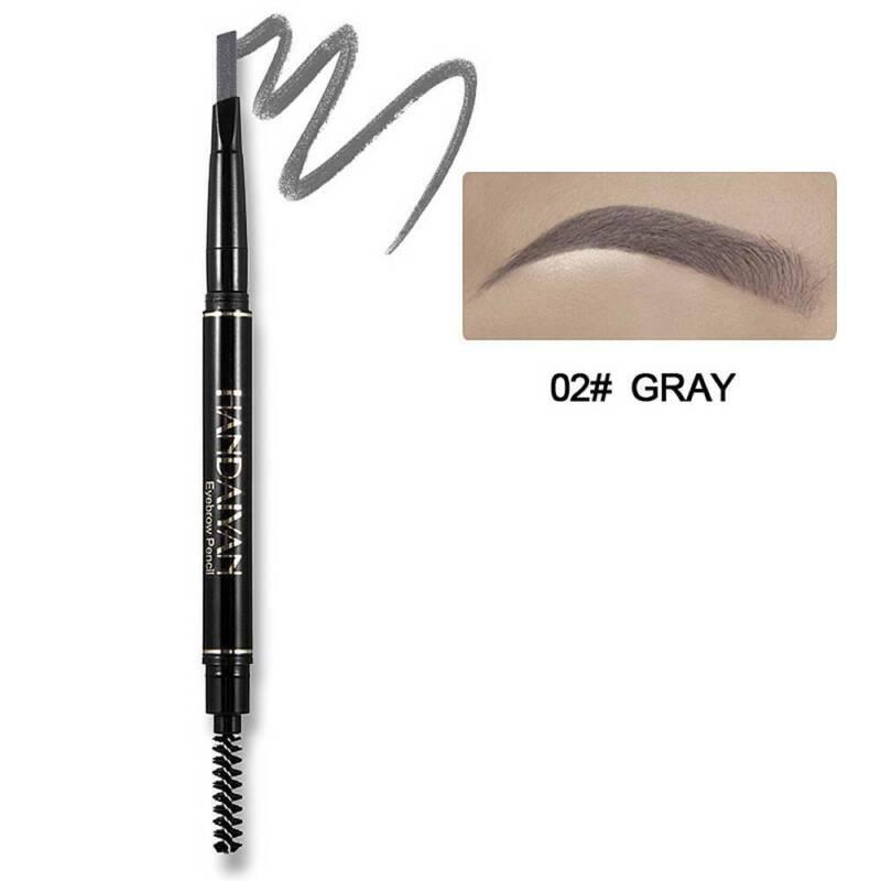 HANDAIYAN 5 Color Double Ended Eyebrow Pencil Waterproof Long Lasting Triangle 10