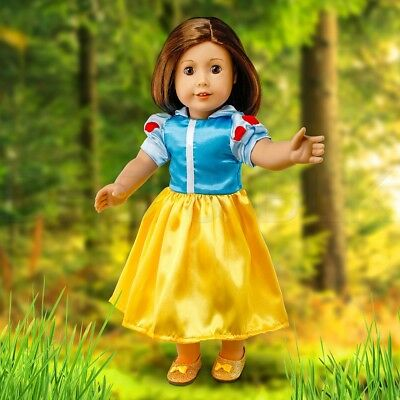 """Fits American Girl 18"""" Princess Dress 18 Inch Doll Clothes Costume Outfit"""