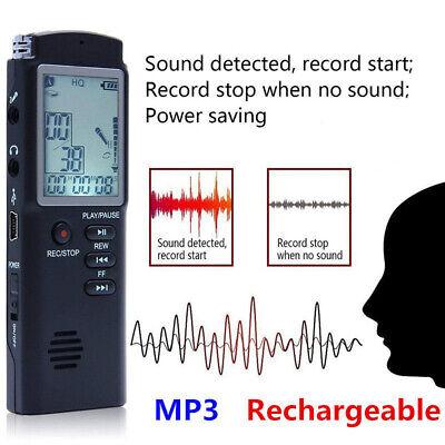 32G Voice Activated Mini Spy Digital Sound Audio Recorder Dictaphone MP3 Player 8