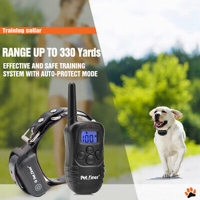 Petrainer Dog Training Shock Collar With Remote Waterproof Rechargeable E Collar 5