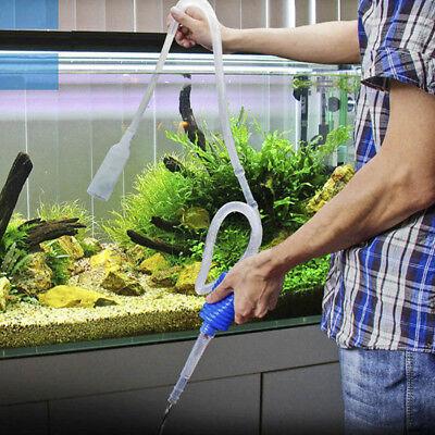 Water Change Pump Aquarium Siphon Vacuum Filter Cleaner for Fish Tank Clean Pipe