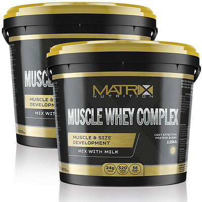 Muscle Whey Complex - Protein Shake - All Flavours All Sizes By Matrix Nutrition 4