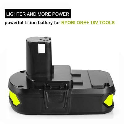 6.0AH 18V Lithium Battery For Ryobi ONE+ Plus P104 P108 P102 P103 P105 P107 P109 3