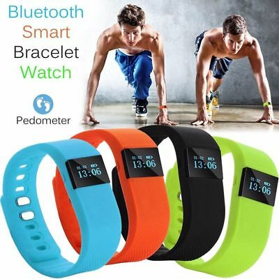 Fitness Activity Tracker Pedometer TW64 Smartband Bracelet Watch IOS Android 2