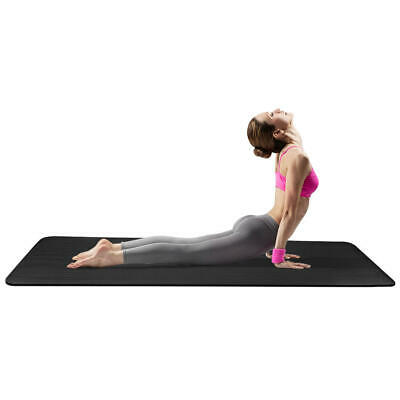 PHAT® 1/2-Inch Extra Thick Exercise Mat with Carrying Strap, Black 6