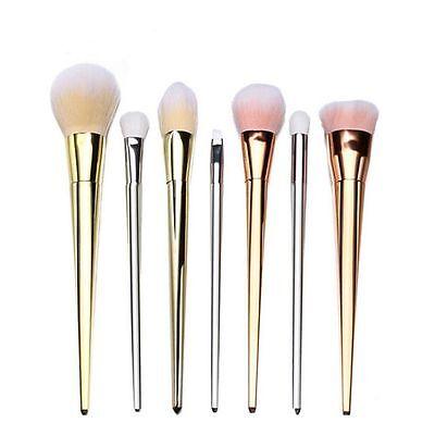 7pcs Makeup Brushes Set Face Powder Foundation Eyeshadow Lip Cosmetic Brush Tool