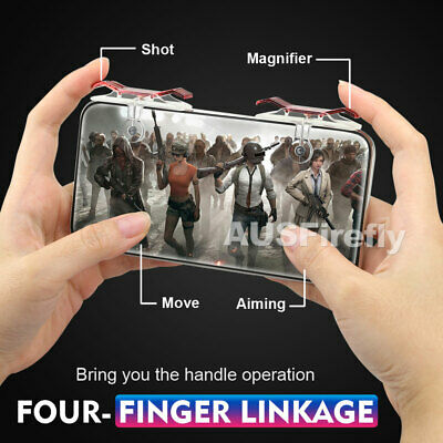 For PUBG Controller Mobile Game Shooter Trigger Fire L1R1 Button Smartphone 2