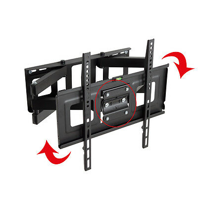 "Support TV mural orientable et inclinable 32"" - 55"" 40 42 46 50 52 LCD 81-140cm 4"