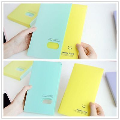 120 Pockets Collection Photocard Book Lomo Card Holder Photo Album Card Stock 10