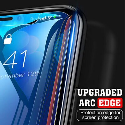 2x Scratch Resist Tempered Glass Screen Protector Film Guard Apple iPhone X XS 2