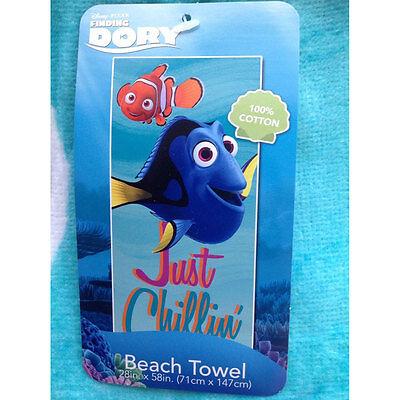 Finding Dory Hank Nemo Bath Swim Beach Pool Towel 58 x 28/' Large