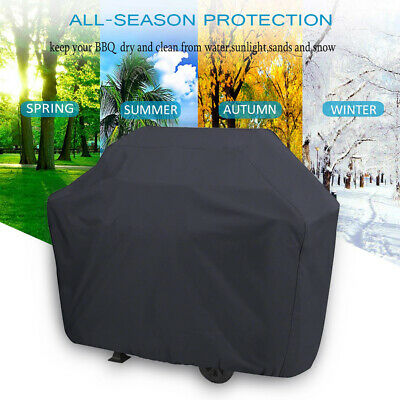 XS-XXL BBQ Cover Heavy Duty Waterproof Medium Barbecue Grill Outdoor Protector 2