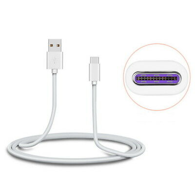 USB-C 5A Super Fast Charging Cable USB 3.1 Type C Quick Charger Sync Data Wire 3