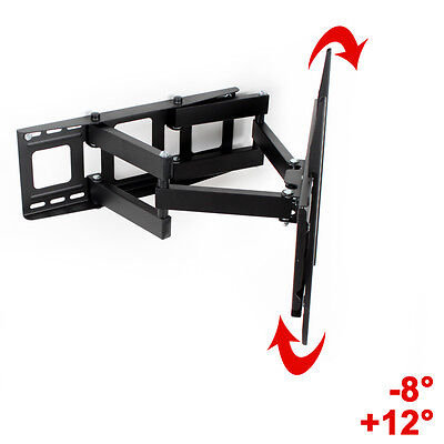 "Support TV mural orientable et inclinable 32"" - 55"" 40 42 46 50 52 LCD 81-140cm 5"