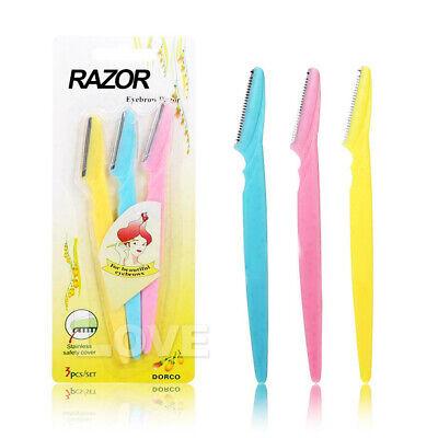 Facial Eyebrow Razor Trimmer Shaper Shaver Blade Knife Hair Remover inkle 2