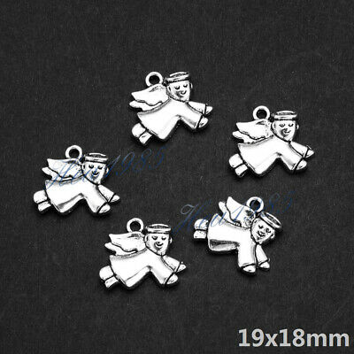 Wholesale Tibetan Silver Metal Charms Pendants Loose Spacer Beads Jewelry Making 12
