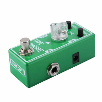 Tone City Tape Machine Delay Guitar Effect Compact Foot Pedal New 2