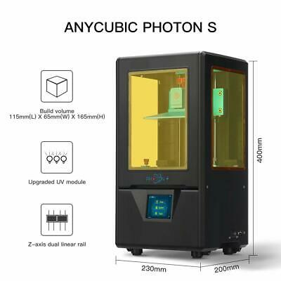 CA ANYCUBIC SLA Photon S 3D Printer 405nm UV Resin Off-line Print Dual Z-axis 2
