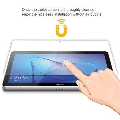 PELLICOLA VETRO TEMPERATO per Huawei MediaPad T3 10 TRASPARENTE CLEAR HD FULL 4