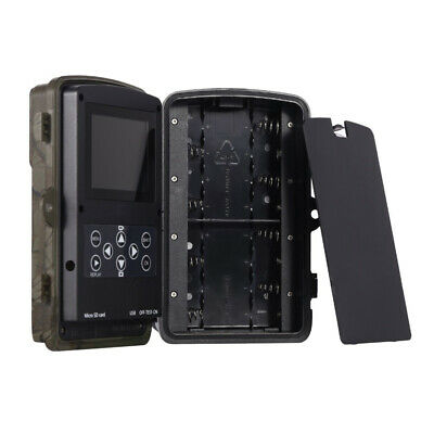 UK 16MP Hunting Trail Camera HD 1080P Wildlife Scouting Cam Night Vision IP65 10