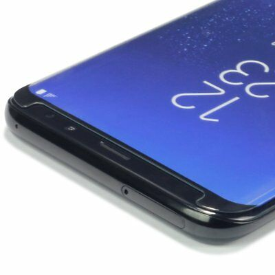 Case Friendly Curved Tempered Glass Screen Protector for Samsung Galaxy S9 S9+ 4