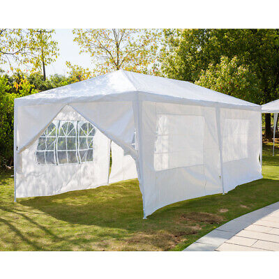 New 3X3m/4m/6m Waterproof Garden Gazebo Party Tent Marquee Awning Canopy Shelter 7