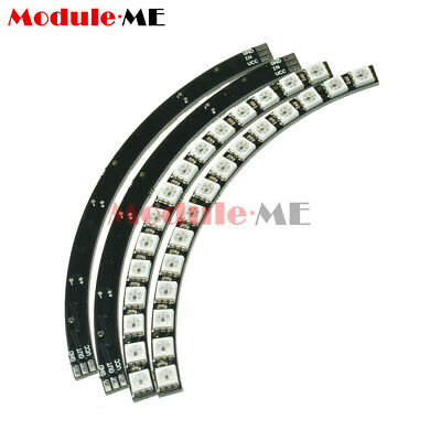 Ring Wall Clock 60 Super Bright WS2812 5050 RGB LED Lamp Panel For Arduino