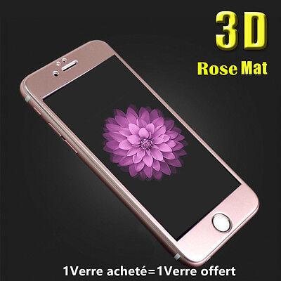 iPhone 8/7/6S/6 VITRE PROTECTION VERRE TREMPE 3D TRANSPARENT FILM ECRAN INTÉGRAL 8