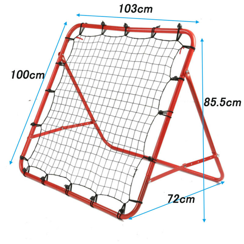 New Rebounder Net Kids Adults Football Training Aid Practice Adjustable 2