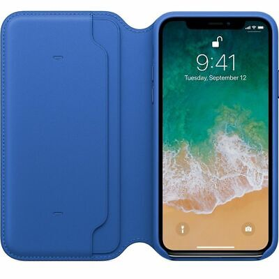 Genuine Leather Folio Flip Wallet Case Cover For Apple iPhone XR XS 6S 7 8 Plus 6