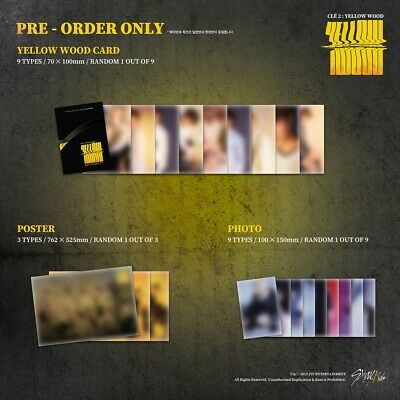 [STRAY KIDS] Special Album / Cle 2 : Yellow Wood / New, Sealed / Pre-order Gifts 4