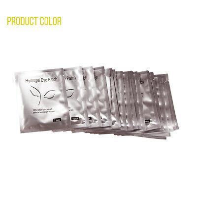 400 Pairs Under Eye Curve Eyelash Pads Gel Patch Lint Free Lash Extension Beauty 8