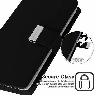 Galaxy S10 S10e S10+ Plus S9 S8 Case  Goospery Wallet Leather Card Slot Samsung 5