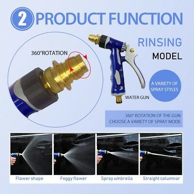 Multifunctional Foam Car Wash Spray Gun Cleaning Hose Pipe Lance High Pressure