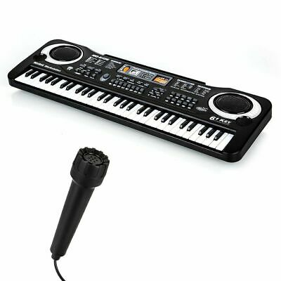 61 Keys Electronic Music Keyboard Organ Piano Set With Mini Microphone Kids Gift 5
