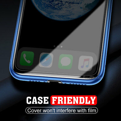 2x Scratch Resist Tempered Glass Screen Protector Film Guard Apple iPhone X XS 4