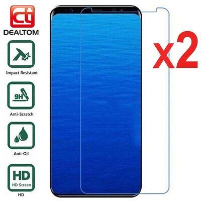2X Tempered Glass Screen Protector For Samsung Galaxy J3 J5 J7 Pro J4 J6 J8 2018 3