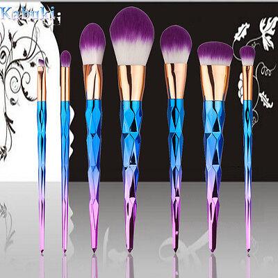 12pcs Kabuki Style Professional Make up Brush Set Foundation Blusher Face Powder 4